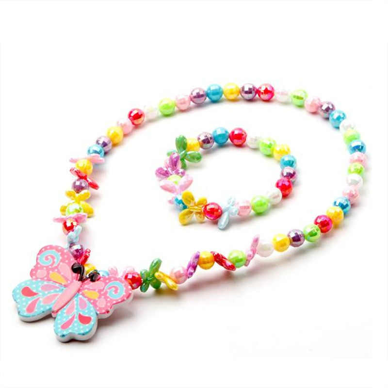 Baby Doll Clothes Accessories Design for 20-22inch 50-55cm Reborn Baby Doll Clothes Sets with butterfly bracelet necklace
