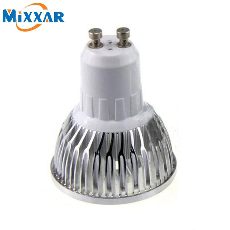 RU 10 PCS Led Lamp Dimmable GU10 3W 4W 5W 6W 8W Chandelier ...