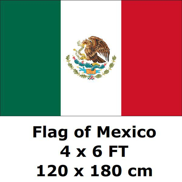 mexico vlag 120x180 cm mexicaanse mex vlaggen en spandoeken