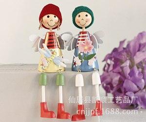 La red entera más vendida nuevos modelos pintados muñeca sentada de madera adornos creativos artesanales D LL-1388D
