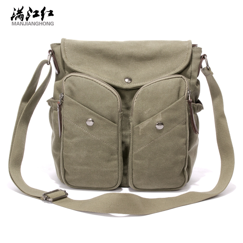 2016 New Men Messenger Bags Canvas Vintage Bag Men Shoulder Crossbody Bags for Man Coffee Black Small Bag Designer Bolso 1357 цена 2017