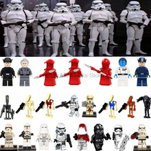 Legoing Star Wars First Order Imperial Stormtrooper Clone Soldier StarWars Toys For Children Building Blocks Legoings Star War(China)