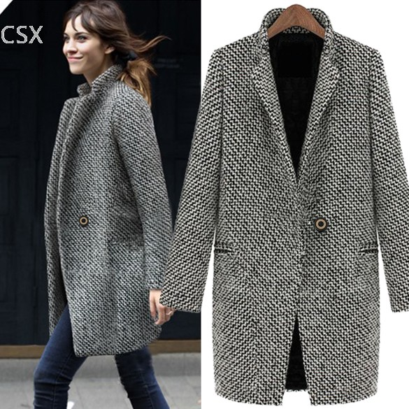 Buy Coat Black Womens And Get Free Shipping On Aliexpresscom