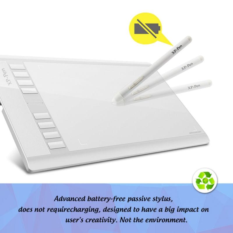 графический планшет для рисования стирающее перо купить