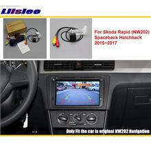 For Toyota Camry XV50 2012~2017 Car Rear View Back Up Reverse Camera Sets / RCA & Original Screen Compatible Parking
