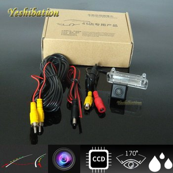 Yeshibation Intelligent Dynamic Trajectory Tracks Reverse Backup Rear View Camera For MB Mercedes Benz CLA Class C117 2013~2015