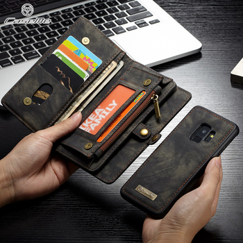 Galaxy S9 Wallet Leather Magnet Back Cover
