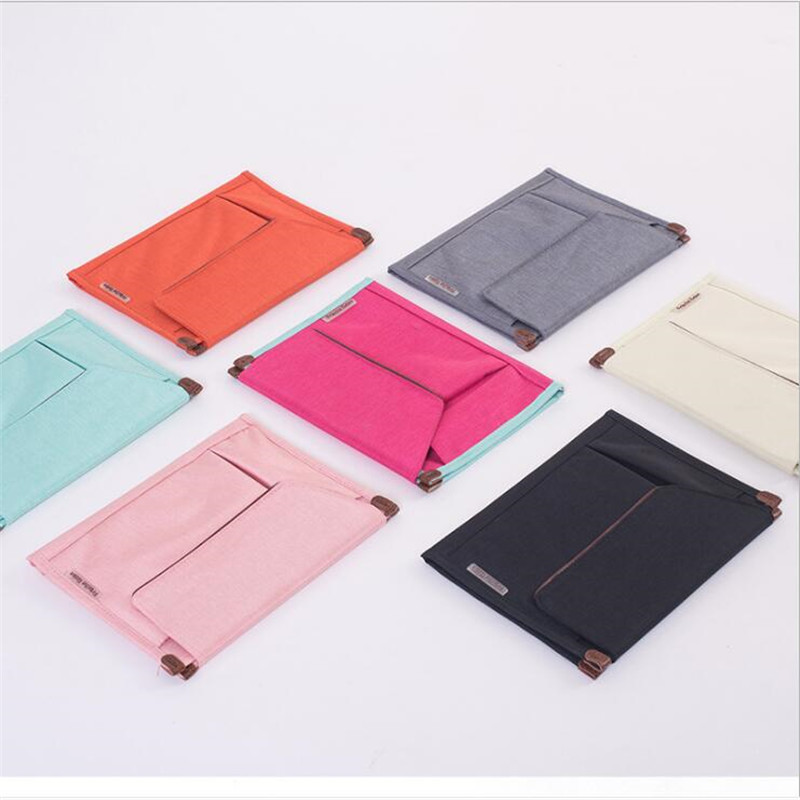 Waterproof Multifunction Document Bag Student File Folder Briefcase Notebooks Phone Packing Organizers Travel Accessories New