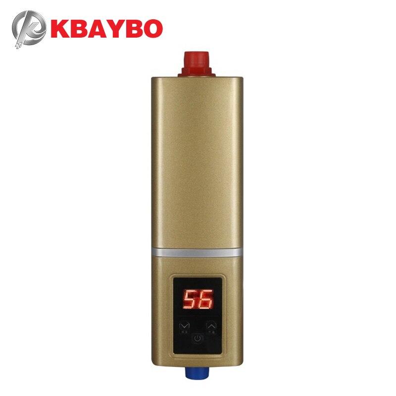 5500 W calentador de agua instantáneo grifo calentador de agua eléctrico instantáneo ducha termostato calefacción máximo de 55 grados Celsius