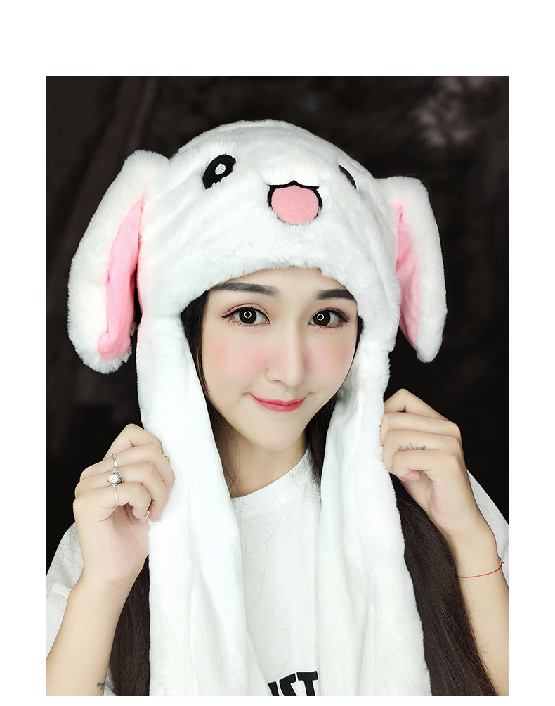 Novelty & Special Use 2019 New Cartoon Hats Moving Ears Cute Rabbit Pikachu Toy Hat Airbag Kawaii Funny Hat Cap Kids Plush Toy Christmas Gift