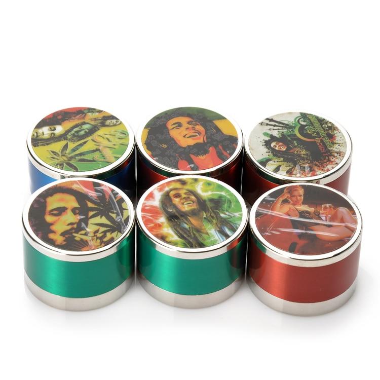 Grosir Hot Ramuan Penggiling 41mm Colorful 3 Lapisan Penggiling - Barang-barang rumah tangga