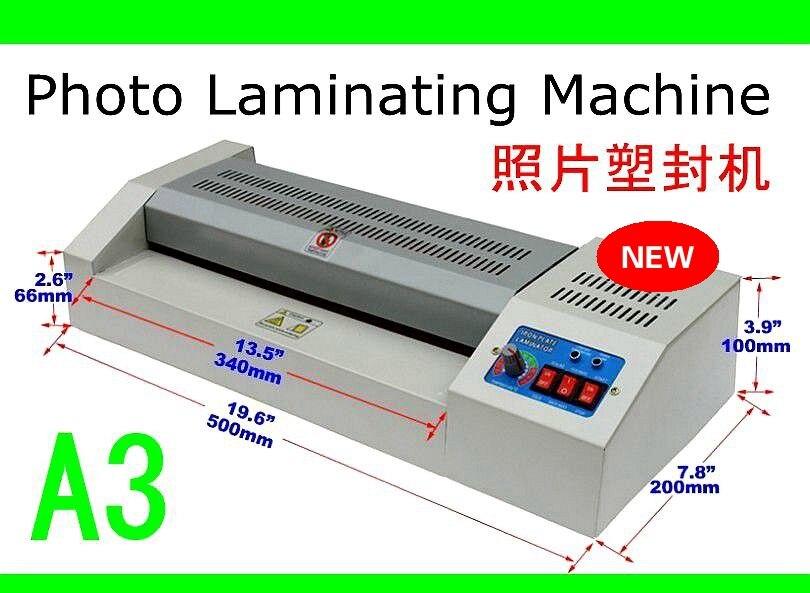 A3 lainator machine  heated roll photo laminating A3 A4 4R 5R A6 size film machine pvc a3 size pouch laminator film photo laminating machine