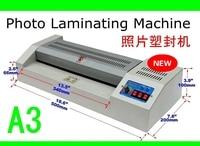 Laminator /Hot Cold Laminator Fast Speed Film Laminating Plastificadora Machine Laminating Paper Trimmer Cutter
