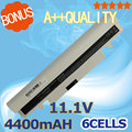 4400 mah batería del ordenador portátil blanco para samsung n145p n150 n250 aa-pb2vc6w/b aa-aa-pl2vc6b pl2vc6b/e aa-aa-pl2vc6w pl2vc6w/e