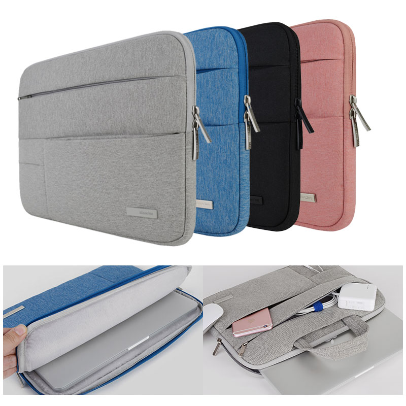 все цены на Laptop Bags Sleeve Notebook Case for Dell HP Asus Acer Lenovo Macbook 11 12 13 14 15 15.6 inch  Soft Cover for Retina Pro 13.3 онлайн