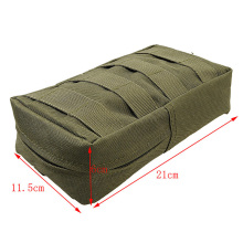 Molle Tactical Magazine Dump Drop Pouch Military Vest Outdoor First Aid Bag 1Pcs Inside Of The Waterproof Coating