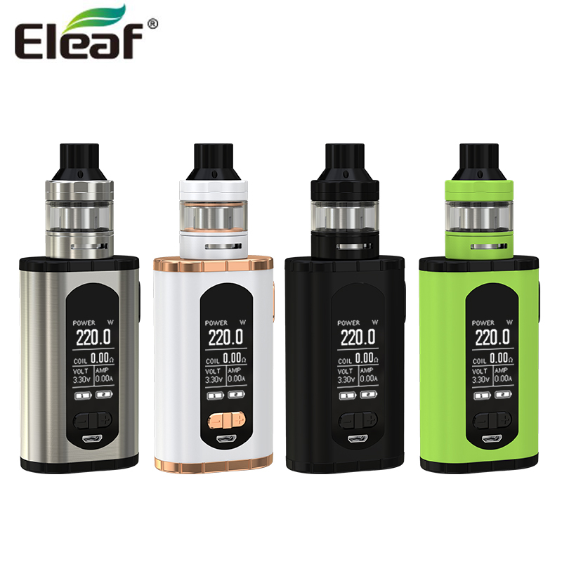 Original Eleaf Invoke with ELLO T Kit 220W Invoke Box MOD Vape with 2ml / 4ml ELLO T Tank Atomizer Electronic Cigarette Kit original eleaf invoke 220w with ello t tc kit with 2ml ello t tank extendable to 4ml