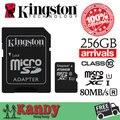 Kingston cartão micro sd cartão de memória de 16 gb 32 gb 64 gb 128 gb 256 gb cartao de memoria classe 10 microsd carte tarjeta micro sd sd tf