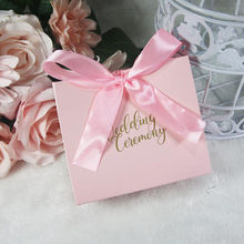 AVEBIEN 20pc Event Party Supplies Romantic Multicolor Wedding Favor Box and Bags European Style Sweet Gift Candy Boxes for Guest(China)