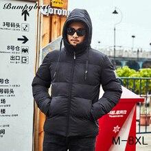 0eaa76e3a577d Bumpybeast winter jacket for men 2018 warm Thick Hooded mens Jackets men s  Parka Male plus size