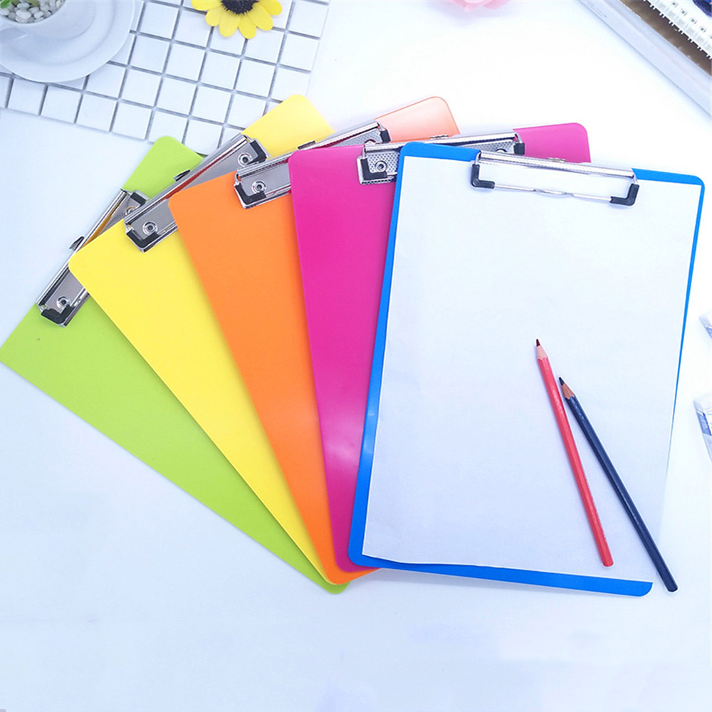 1pc Multicolor A4 Clip Board Portable File Clipboard with Hook Hard Board Writing Plate Document Bag File Folder Stationery1pc Multicolor A4 Clip Board Portable File Clipboard with Hook Hard Board Writing Plate Document Bag File Folder Stationery