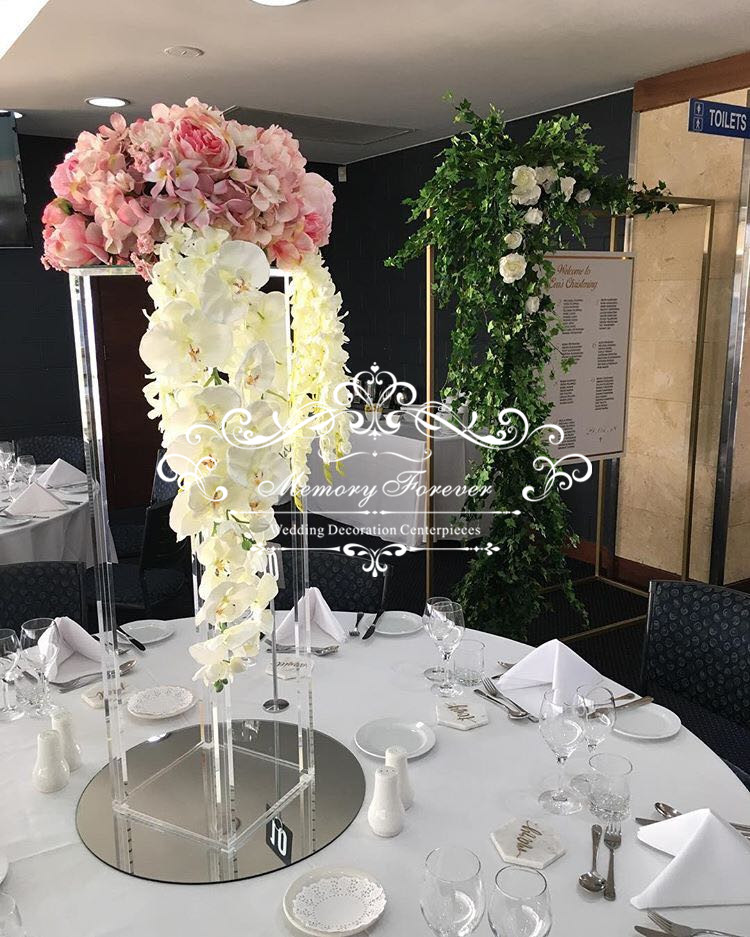 Vintage Wedding Centerpieces Ideas: Wedding Flower Stand 31.5 Inches Tall Crystal Flower