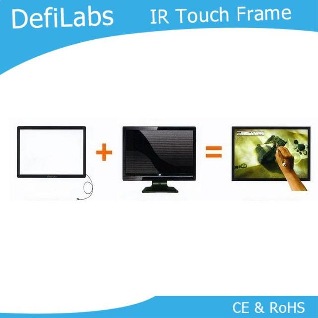 Defilabs On Sale 32 Inch Infrared Touch Frame For Digital Signage