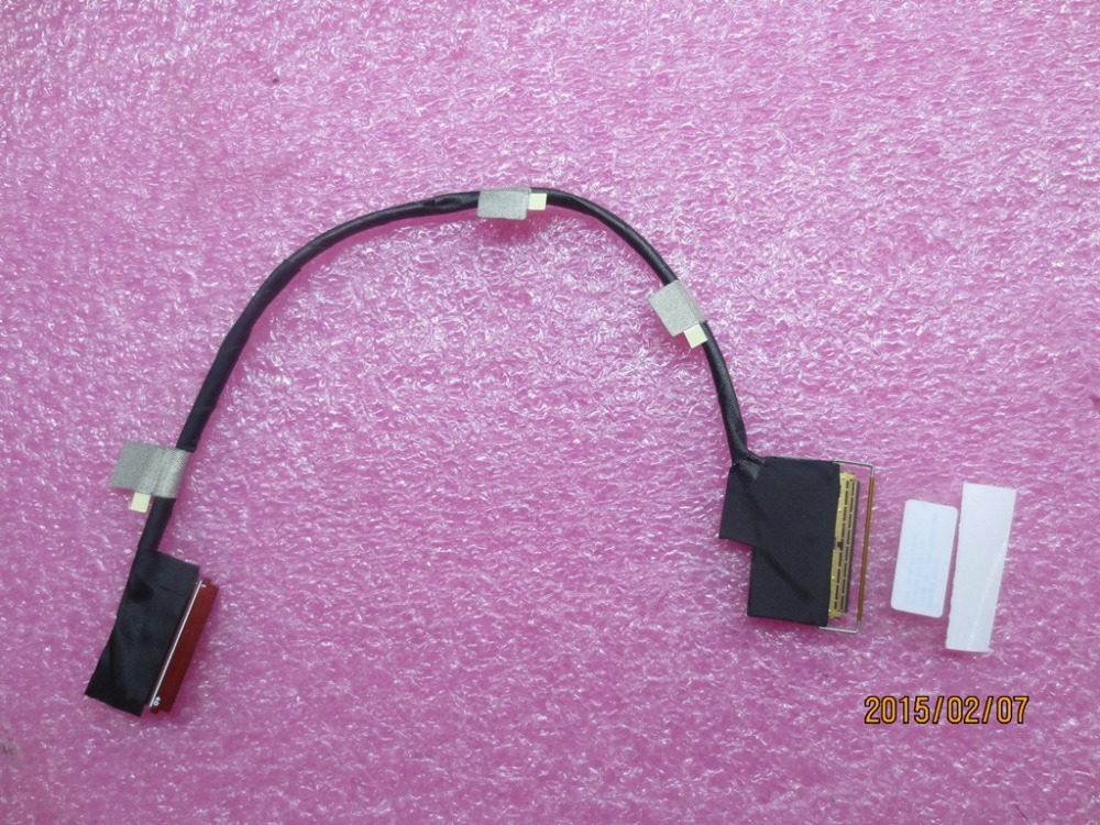 New Original for Lenovo ThinkPad T550 W550S T560 P50S T570 P51S eDP LCD Cable 00NY456 00UR856 Touch Screen 2880*1620 3K 40Pin new original for lenovo thinkpad yoga 260 bottom base cover lower case black 00ht414 01ax900