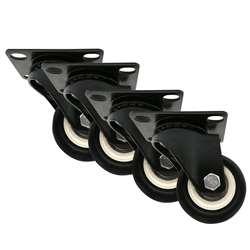 4X2 дюйма/50 мм все поворотные ролики вмещают 100 кг пластиковую резину