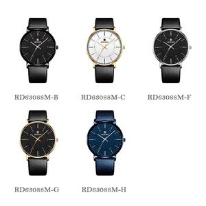 Image 5 - RECOMPENSA de 2019 Novos Homens Da Moda Relógios Top Marca de Luxo Homens Relógio Ocasional Ultrafino À Prova D Água Esporte relógio de Pulso Relogio masculino