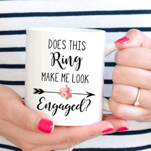 Does This Ring Make Me Look Engaged mugs beer cup coffee mug ceramic tea cups home decor novelty friend gift birthday gifts