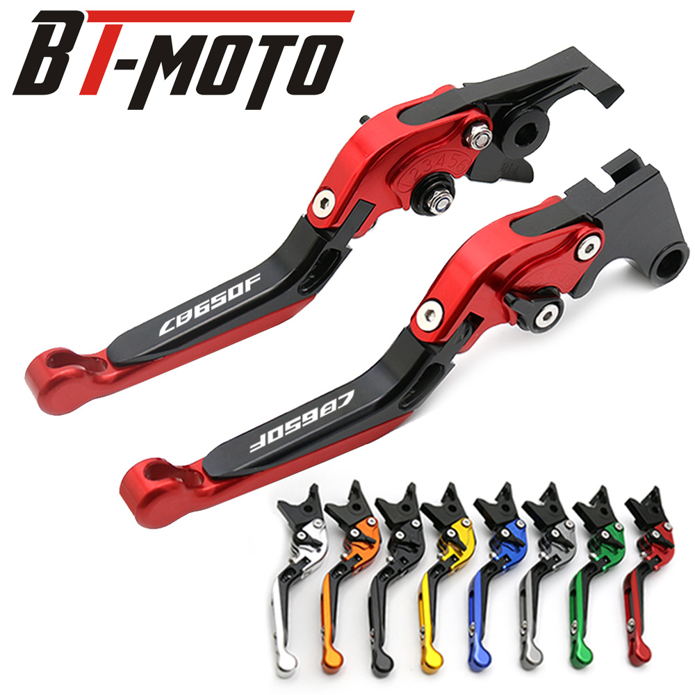 1 pair Adjustable CNC motorcycle Clutch Brake Levers For Honda CBR650F CB650F CBR 650 F CB 650F 2014 2015 2016 2017 2018 Handle1 pair Adjustable CNC motorcycle Clutch Brake Levers For Honda CBR650F CB650F CBR 650 F CB 650F 2014 2015 2016 2017 2018 Handle