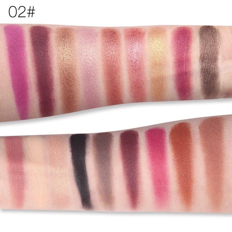 ucanbe marca shimmer fosco sombra maquiagem paleta 04