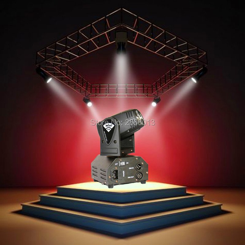 Niugul Mini 10W RGBW 4in1 led moving head/ DMX512 light /LED beam spot Lighting Show/Disco DJ Laser Light/Christmas party lights 10w mini led beam moving head light led spot beam dj disco lighting christmas party light rgbw dmx stage light effect chandelier
