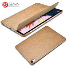 For iPad Pro 12.9 2018 Magnetic Stand Smart Cover New inch Simplicity PU leather Case for Apple
