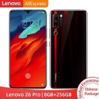 Глобальная ПЗУ lenovo Z6 Pro 8 Гб 256 ГБ Snapdragon 855 Octa Core 6,39