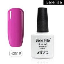 10ml Colorful Coat Bling Gel Nail Polish Natural Resign UV Lamp Soak Off Semi Permanent Nail