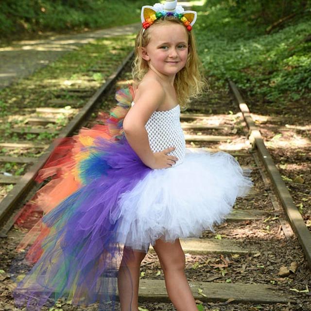 Rainbow Unicorn Inspired Dress