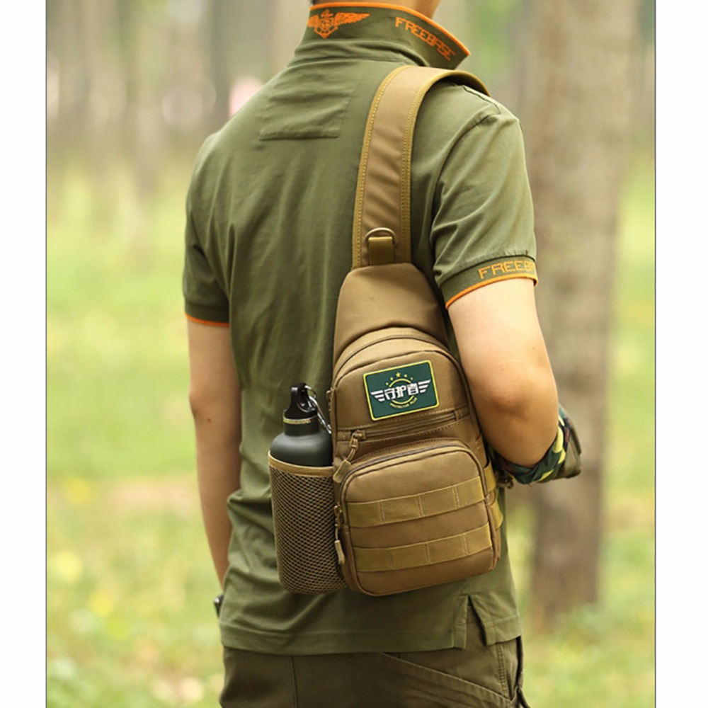 Sport Bag Camping Men Military Tactical Travel Hiking Shoulder Sling Running Wearable Anti-Tear 100% Brand New Add Accessories
