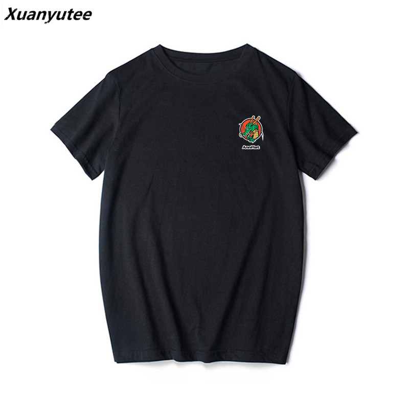 Xuanyutee 2018 été arrivée Dragon Ball T shirt Homme amoureux coton à manches courtes col rond imprimé Super Saiyan mode T-shirt hommes