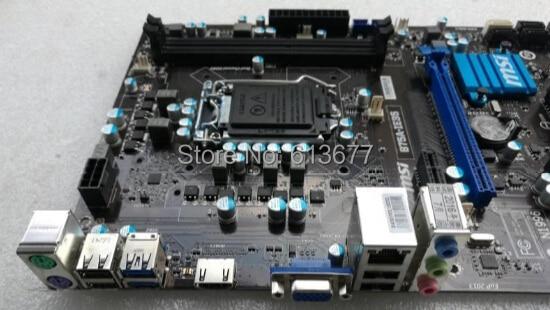 for MSI B75A-IE35  Motherboard CPU i7 i5 i3 LGA1155 DDR3 I//O Shield