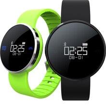 Новый UW1 Bluetooth 4.0 Смарт Спорт браслет сердечный ритм звонки SMS напомнить IP67 водонепроницаемый шагомер для Android IOS Хэллоуин подарки