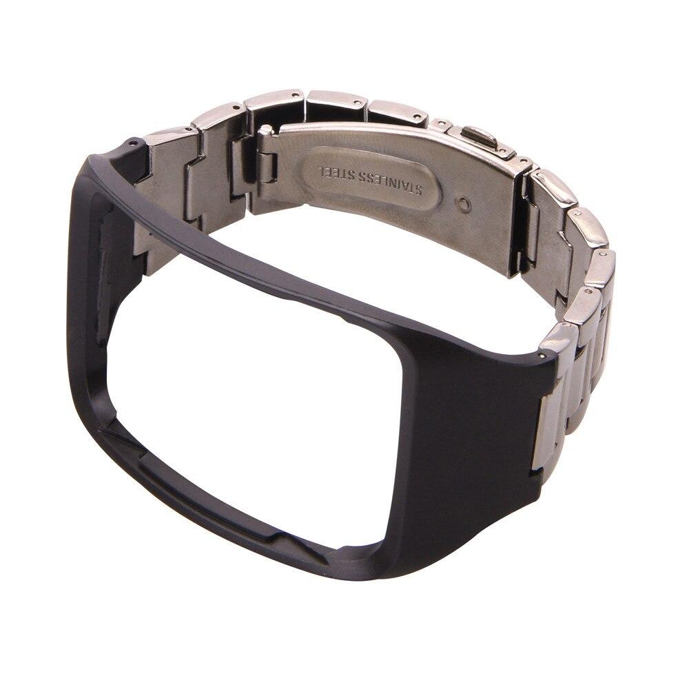 f37ee311dce Pulseira para samsung gear s sm r750 cinta de metal em aço inoxidável faixa  de relógio de pulso strap pulseira para samsung gear s sm r750 Hot em  Pulseiras ...