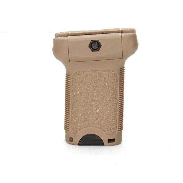 전술 airsoft tb1069 td 그립 범용 장난감 액세서리 플라스틱 손잡이 탄 및 검정