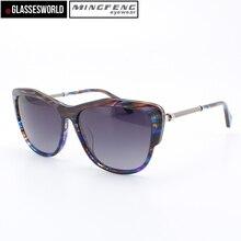 Новинка 2017 года Стиль Модные солнцезащитные очки женщин с HING качество ацетат солнцезащитные очки