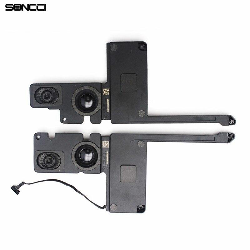 Soncci 1 paire haut-parleur gauche et droit câble de remplacement pièces de rechange pour Macbook Pro 15 ''Retina A1398 2012 2013 2014 2015 ordinateur portable