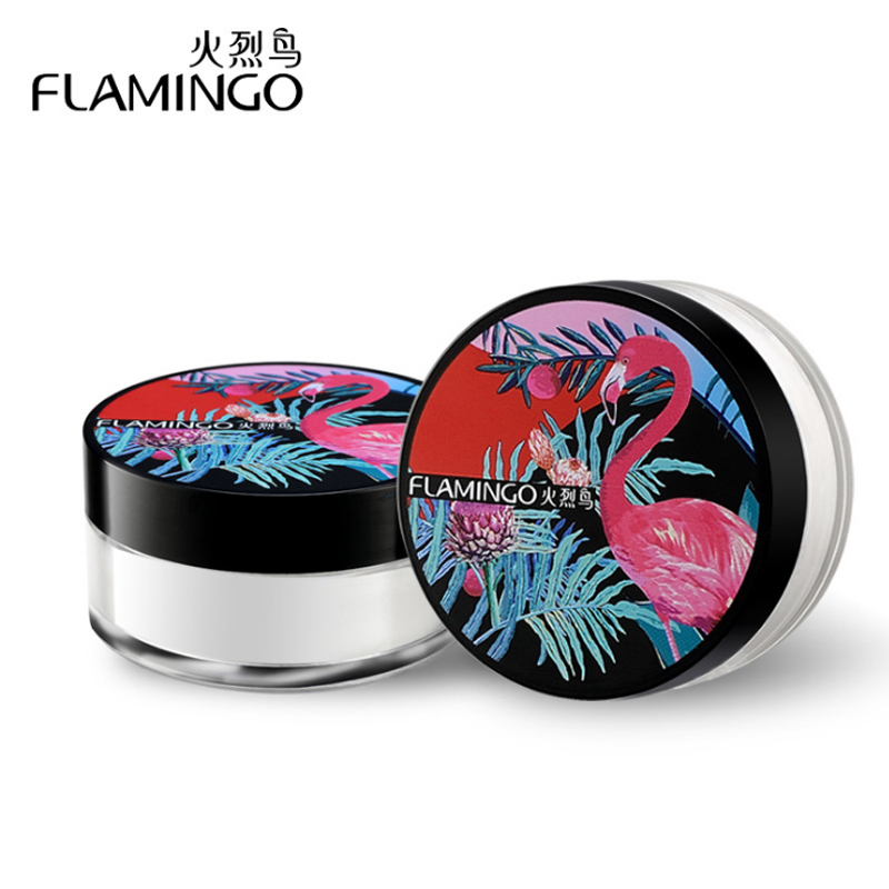 FLAMINGO Makeup Foundation Loose Powder Beauty High Quality Contour Powder Natural Banana Powder C1006 focallure 3pcs pro face makeup daily using foundation cream loose powder with high quality makeup brush