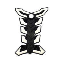 Резиновый защитный чехол для мотоцикла Наклейка 3D чехол черный+ белый