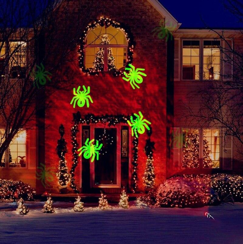 Waterproof Christmas LED Kaleidoscope Ocean Wave Light Projector for ...