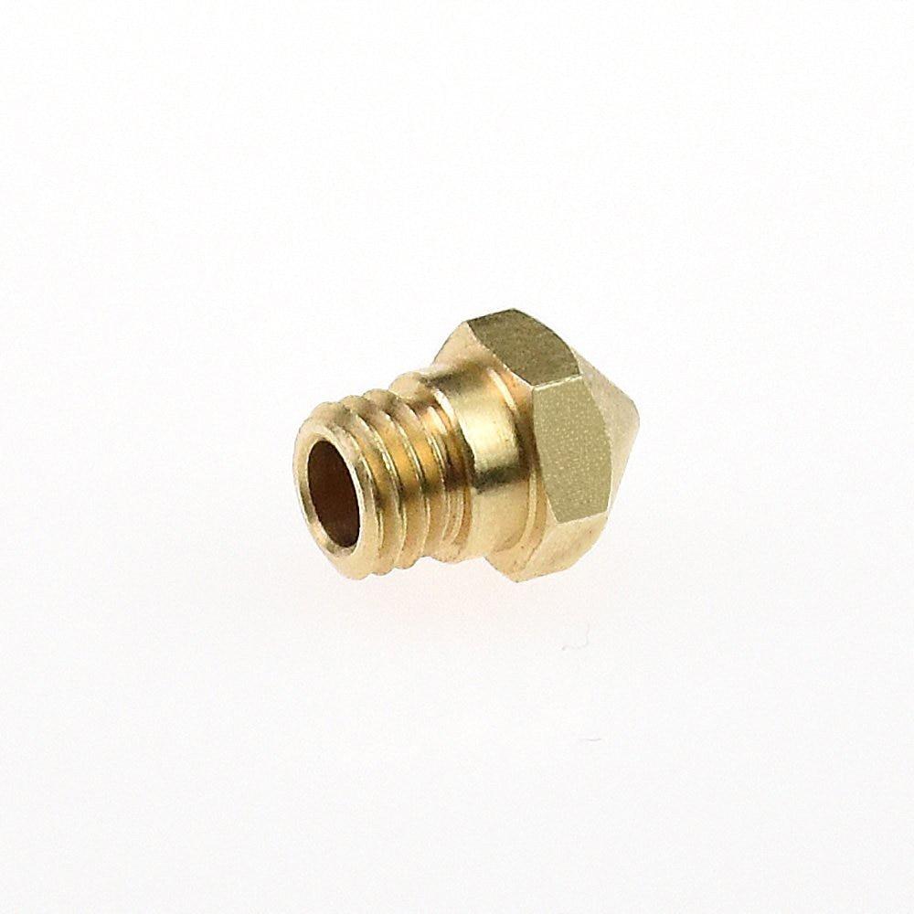 6pcs Assorted MK10 Nozzle 0.2,0.3,0.4,0.5,0.6,0.8mm for Dremel Wanhao Flashforge